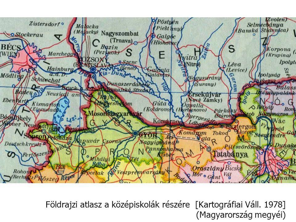 Földrajzi atlasz a középiskolák részére [Kartográfiai Váll